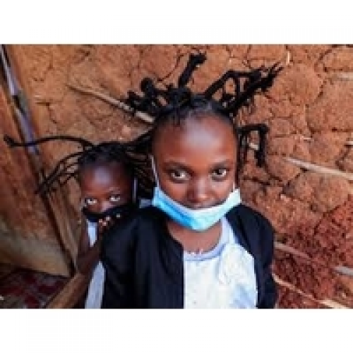The 'Corona Hairstyle' Is Spreading an Important Message About COVID-19 in Kenya.